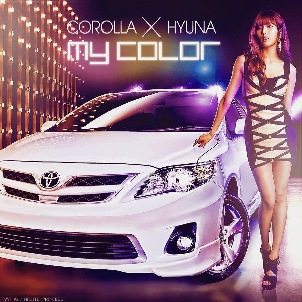 [Single] Hyuna - My Color COROLLA×HYUNA