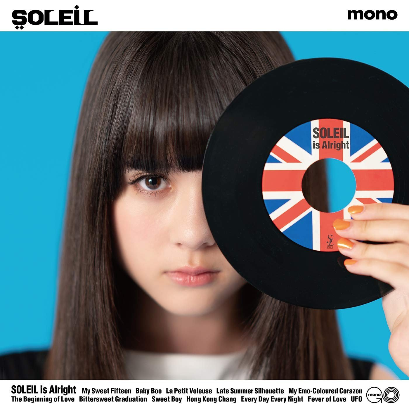 Soleil (ソレイユ) – SOLEIL is Alright [MP3 320 / CD] [2018.09.19]